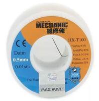 Припой в проволоке MECHANIC HX-T100 диаметр 0.5мм 55грамм c флюсом