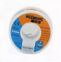 Припой в проволоке MECHANIC HX-T100 диаметр 0.6мм 55грамм c флюсом