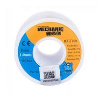 Припой в проволоке MECHANIC HX-T100 диаметр 1.0мм 55грамм c флюсом