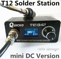 Паяльная станция MINI T12 OLED  DC версия T12-942 QUICKO