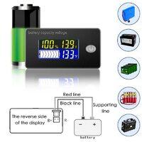 Индикатор емкости свинцово-кислотного, Li- Lifepo4 аккумулятора 12 в 24 в 36 в 48 в 60 в 72 в