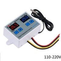 Цифровой термостат XK - W1010 нагрев / охлаждение с двойным дисплеем AC 220V 10А