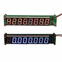 0,1 МГц - 2,4 GHz RF 8-разрядный светодиодный частотомер