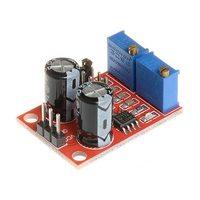 NE555 Регулируемый генератор сигналов квадратной волны 10 КГц - 200 КГц с циклом импульс / частота