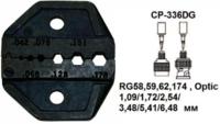 CP-336DJ Pro'sKit Губки сменные для обжима оптоволоконного кабеля RG174/179