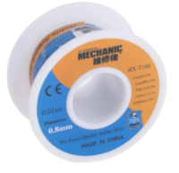 Припой в проволоке MECHANIC HX-T100 диаметр 0.8мм 55грамм c флюсом