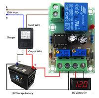 Блок контроля заряда аккумулятора 12 вольт