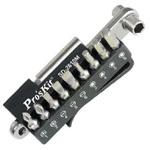 Набор бит с ключом из нержавеющей стали Pro'sKit SD-2610M