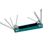 Набор ключей-шестигранников и отверток складной Pro'sKit 8PK-021S