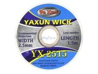 Оплётка Yaxun YX-2515 ширина 2.5мм длина 1.5м