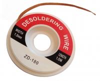 Оплётка ZD-180 ширина 1.5мм длина 1.5м