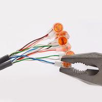 Клемма для соединения 2х проводов без пайки