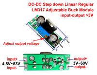 Понижающий DC преобразователь с высоким входным напряжением до 60 вольт