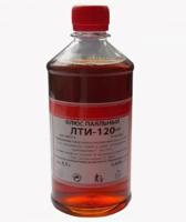 Флюс паяльный ЛТИ-120  (бутылка ПЭТ-500 мл. - 0,4 кг)