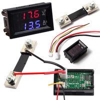 Вольтамперметр постоянного DC 0 - 100V 50A тока с выносным шунтом