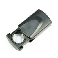 Лупа ручная  ZB1018L X30 d18мм ювелирная c подсветкой