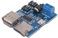 MP3 плейер с USB входом, TF картой и УНЧ 3Вт