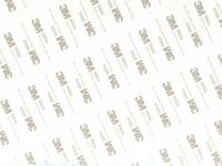 Скотч двусторонний в листах 210х150x0,3 мм (белый)