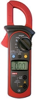 Цифровые токоизмерительные клещи переменного тока с автоматическим выбором диапазона измерений (токовые клещи) UNI-T UT201