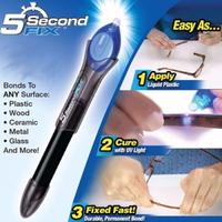 Быстрый 5 сек клей в ручке с ультрафиолетовым фонариком