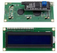1602 дисплей LCD синий