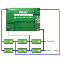 Контроллер заряда / разряда для 3S Li-Ion 18650 аккумуляторов с балансиром PCM BMS max 40A 12V