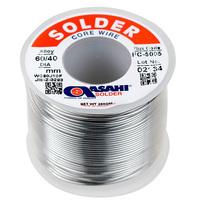 Припой оловянно-свинцовый ПОС-60, ASAHI Sn60/Pb40 FC5005, 0,25 мм