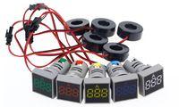 Цифровой 0 - 100A светодиодный амперметр AC 220V