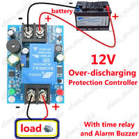 Блок защиты аккумулятора 12V от глубокого разряда