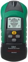 Детектор проводки, металла и дерева, тестер розеток и УЗО Mastech MS6908