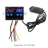 Цифровой термостат с контролем влажности XK-W1099