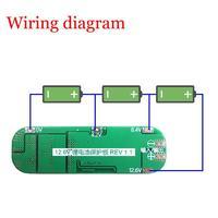 Модуль контроля заряда / разряда 3S литий - ионного 18650 аккумулятора 20 Ампер