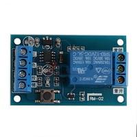 Бистабильный релейный модуль 12V  с кнопкой Start / Stop