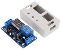 YYC-2 Цифровой модуль задержки времени (таймер от 0,1сек. до 999мин) в корпусе