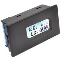 Измеритель ёмкости литий-ионного 18650 аккумулятора, детектор напряжения, измеритель тока