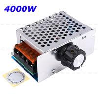 Регулятор SCR напряжения  4000W AC 220V контроллер скорости мотора