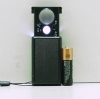 Микроскоп с подсветкой (2 лампы + детектор) №9881