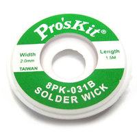 Оплётка Proskit 8PK-031B ширина 2.0мм. длина 1.5м
