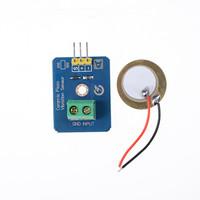 Аналоговый пьезоэлектрический датчик вибрации для Arduino UNO rev3