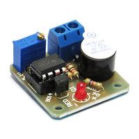 Звуковой датчик защиты батареи 12 вольт от глубокого разряда
