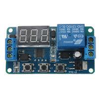 YYC-2 Цифровой модуль задержки времени (таймер от 0,1сек. до 999мин) DC 12V