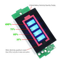 Индикатор ёмкости 12.6 V 3S литиевой батареи