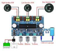 TPA3116 цифровой 2 х 50 вт +100 вт сабвуфер усилитель мощности стерео класс D + Bluetooth 5,0