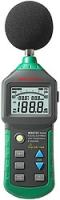 Цифровой измеритель уровня шума (шумомер) с термометром и гигрометром Mastech MS6702