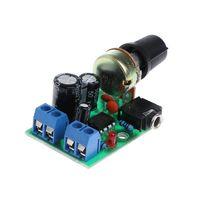 Мини усилитель 1 канал мощностью 0.5 - 10 wt на LM386