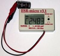 """Измеритель емкости и ESR """"ESR-micro v3.1"""""""