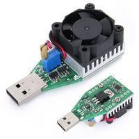 USB электронная нагрузка 15W 3.7 - 15V с воздушным охлаждением