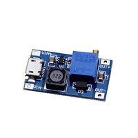 Повышающий модуль DC USB 2 - 24V к 5 - 28V и током до 2A